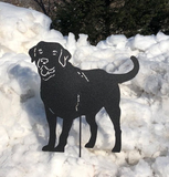 Labrador Retriever Garden Stake or Wall Hanging (Style 1)