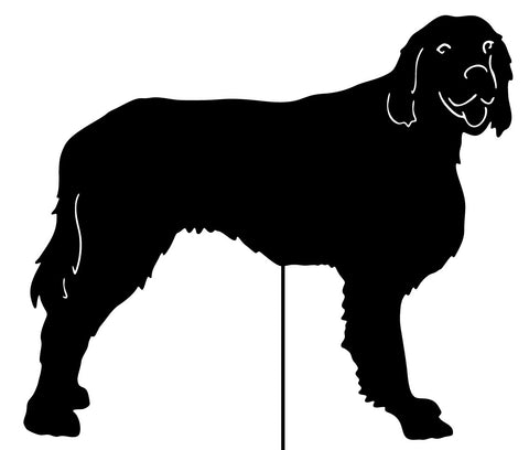 Irish Setter Garden Stake or Wall Hanging