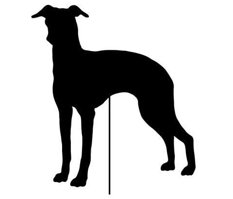 Italian Greyhound Garden Stake or Wall Hanging