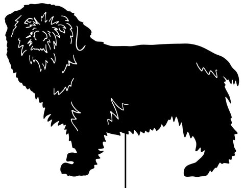 Norfolk Terrier Garden Stake or Wall Hanging