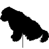 Old English Sheepdog Garden Stake