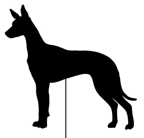 Pharaoh Hound Garden Stake or Wall Hanging