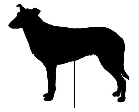 Smooth Collie Plant Stake