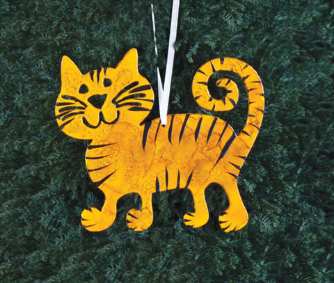 Cat Garden Stakes, Wall Art, Plant Stakes & Ornaments – Rustica ...