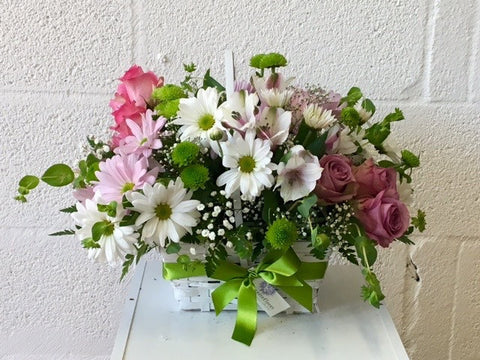 Basket of flowers - florist choice