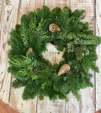 Christmas Wreath 25""