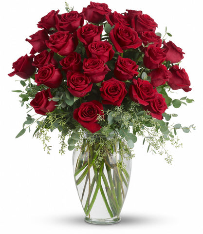 Forever Beloved - Long Stemmed Red Roses