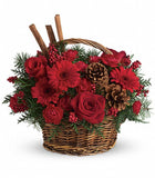 Christmas flowers for delivery. Coral Gables florist
