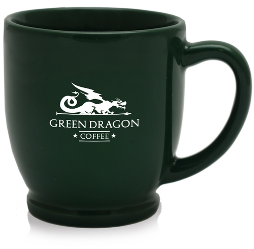 CERAMIC BISTRO MUG - Green Dragon Coffee