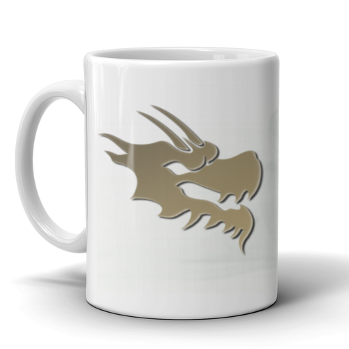 11 oz Dragon Smoke Mug - Green Dragon Coffee  - 1