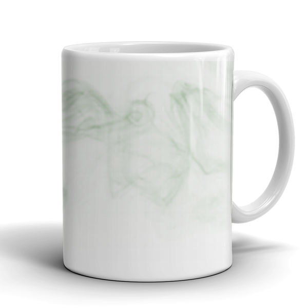 11 oz Dragon Smoke Mug - Green Dragon Coffee  - 3
