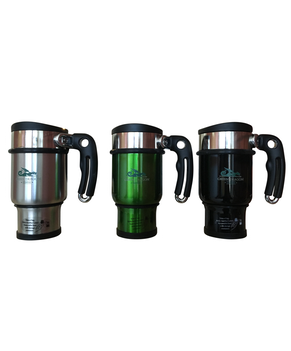TRAVEL FRENCH PRESS MUG (LOGO) - Green Dragon Coffee  - 1