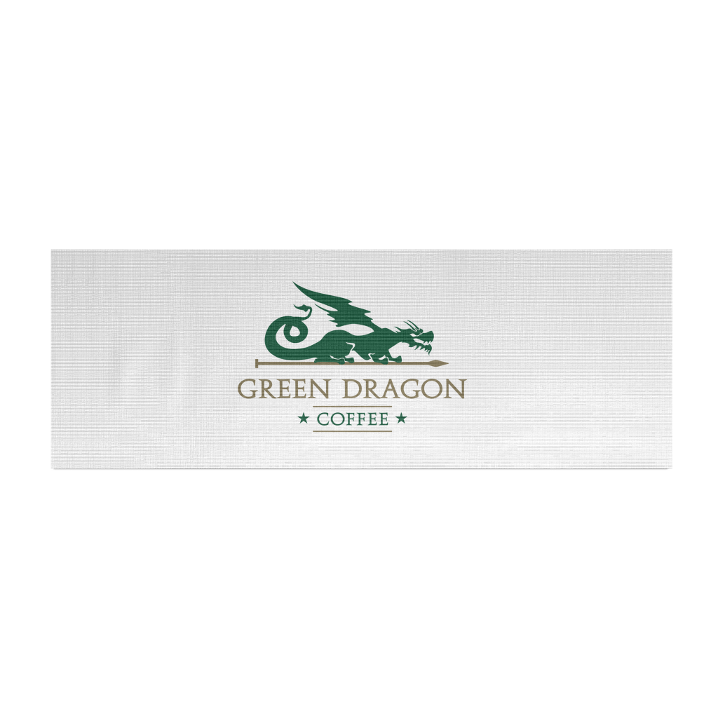 Logo Yoga Mat - Green Dragon Coffee  - 2