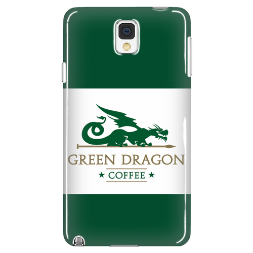 Green Dragon Phone Case - Green Dragon Coffee  - 1