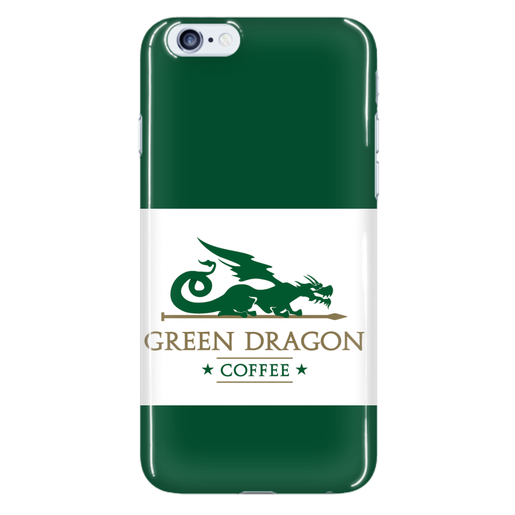 Green Dragon Phone Case - Green Dragon Coffee  - 7