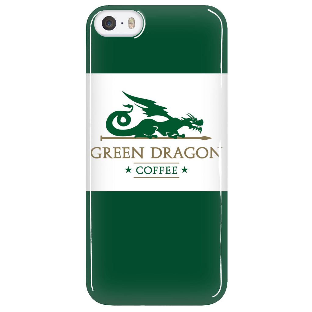 Green Dragon Phone Case - Green Dragon Coffee  - 5