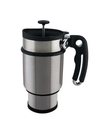 TRAVEL FRENCH PRESS MUG (LOGO) - Green Dragon Coffee  - 3