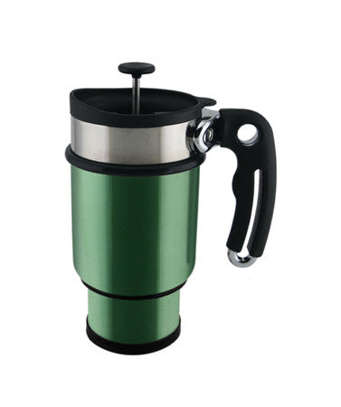 TRAVEL FRENCH PRESS MUG (LOGO) - Green Dragon Coffee  - 2