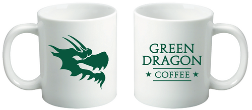 Ceramic Coffee Roasters Mug - Green Dragon Coffee  - 2