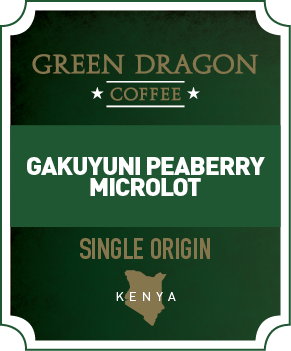 GAKUYUNI PEABERRY - Green Dragon Coffee