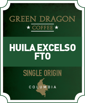 COLOMBIA HUILA EXCELSO FTO - Green Dragon Coffee