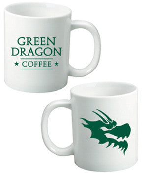 Ceramic Coffee Roasters Mug - Green Dragon Coffee  - 1