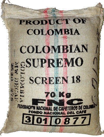 DECAF COLOMBIA SUPREMO - Green Dragon Coffee