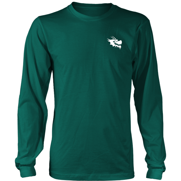 Mens Long Sleeve Shirts - Green Dragon Coffee  - 6