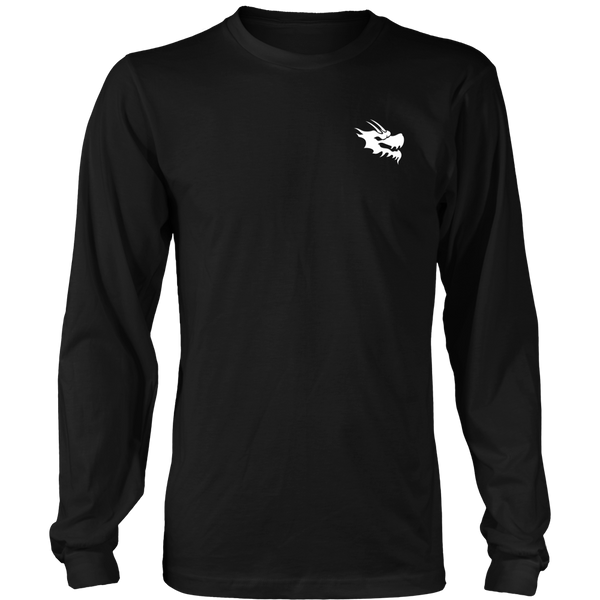 Mens Long Sleeve Shirts - Green Dragon Coffee  - 8