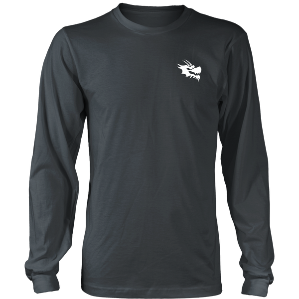 Mens Long Sleeve Shirts - Green Dragon Coffee  - 7
