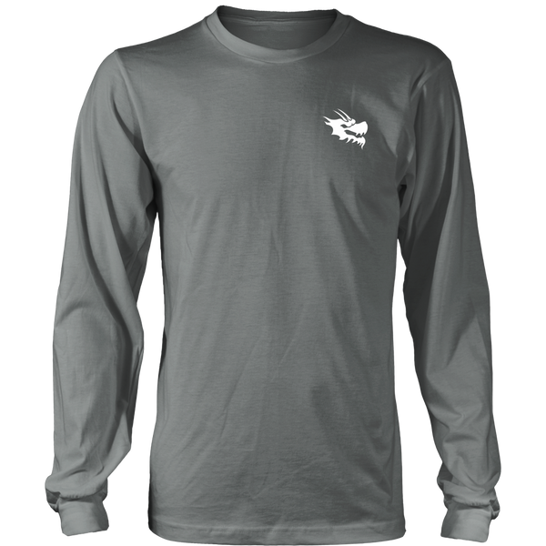 Mens Long Sleeve Shirts - Green Dragon Coffee  - 9