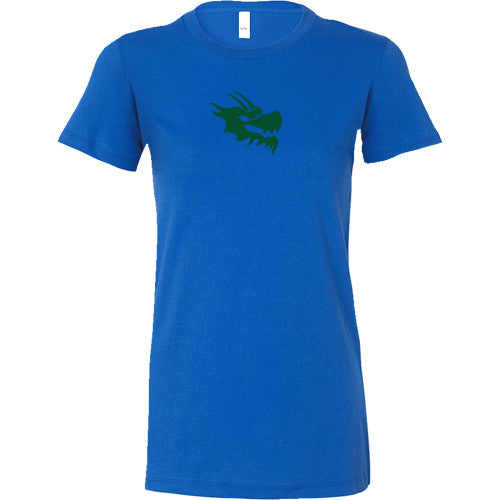 44792ae1 Womens Bella Dragon Head Shirt - Green Dragon Coffee - 3