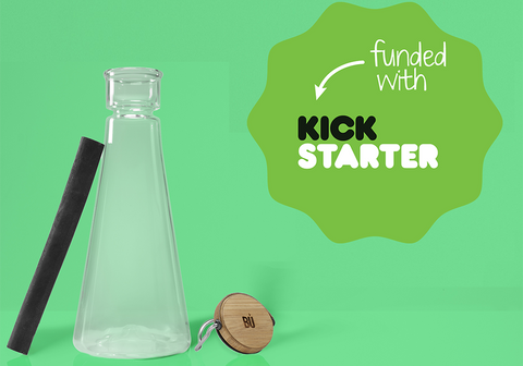 BU Water Bottle Funded on Kickstarter