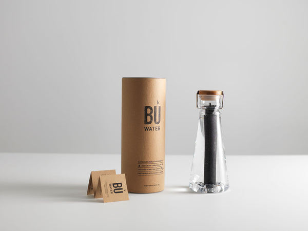 BU Water - The Bamboo Filter Water Bottle