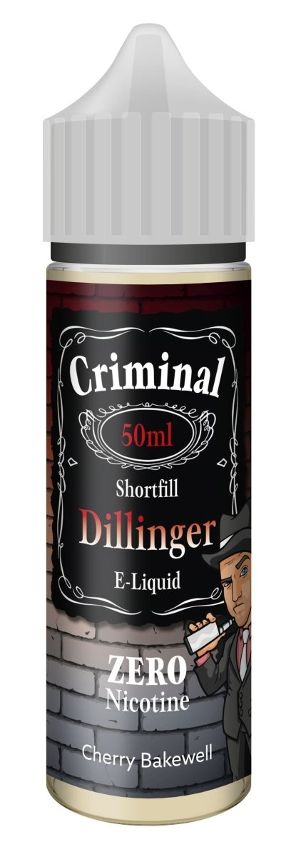 Criminal E-Liquid Dillinger 50ml - Vape Town
