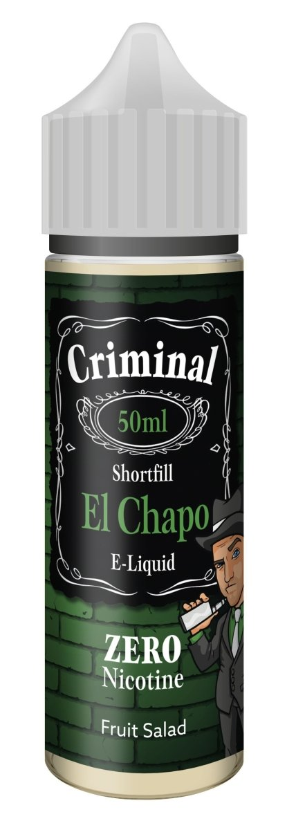 Criminal E-Liquid El Chapo 50ml - Vape Town