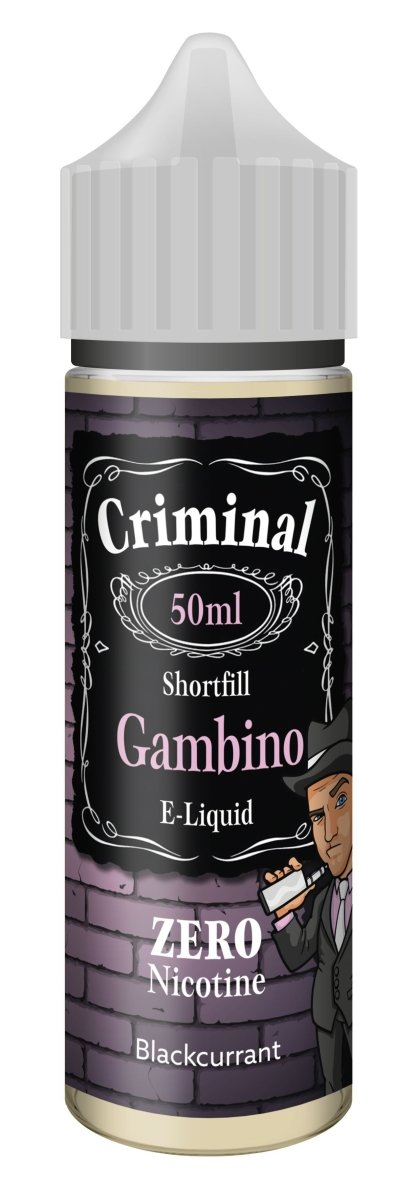 Criminal E-Liquid Gambino 50ml - Vape Town