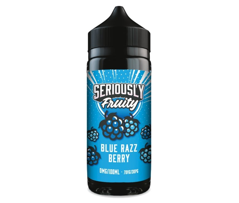 Doozy Seriously Fruity - Blue Razzberry 100ML - Vape Town Online