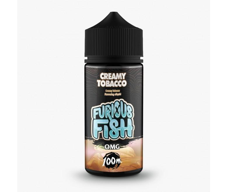 Furious Fish - Creamy Tobacco 100ML - Vape Town Online