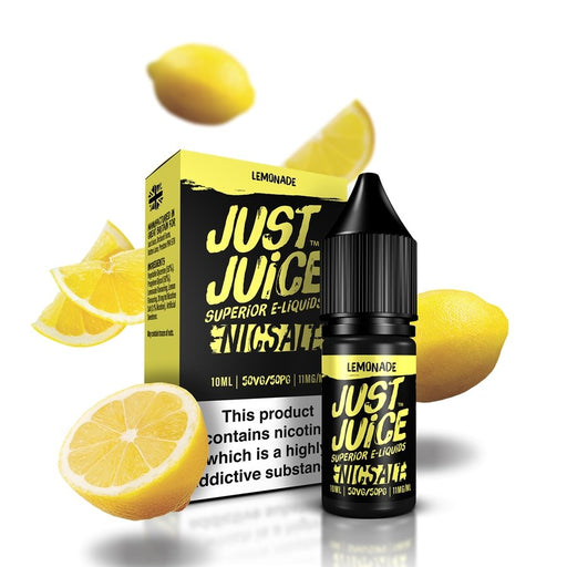 Just Juice NIC SALTS - Lemonade 10ml - Vape Town