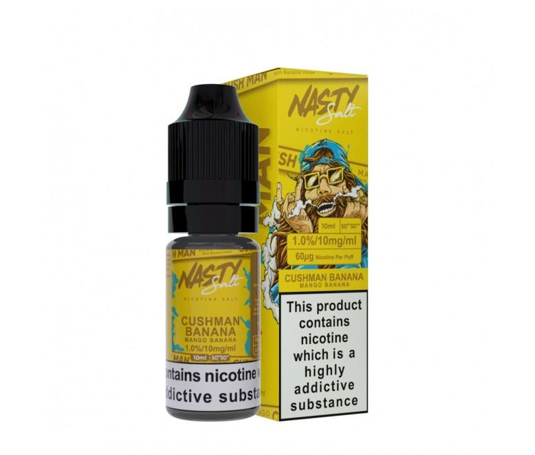 Nasty Juice Salts - Cushman Banana 10ml E-Liquid - Vape Town Online