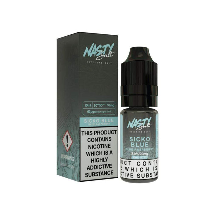 Nasty Juice Salts - Sicko Blue 20mg 10ml E-Liquid - Vape Town