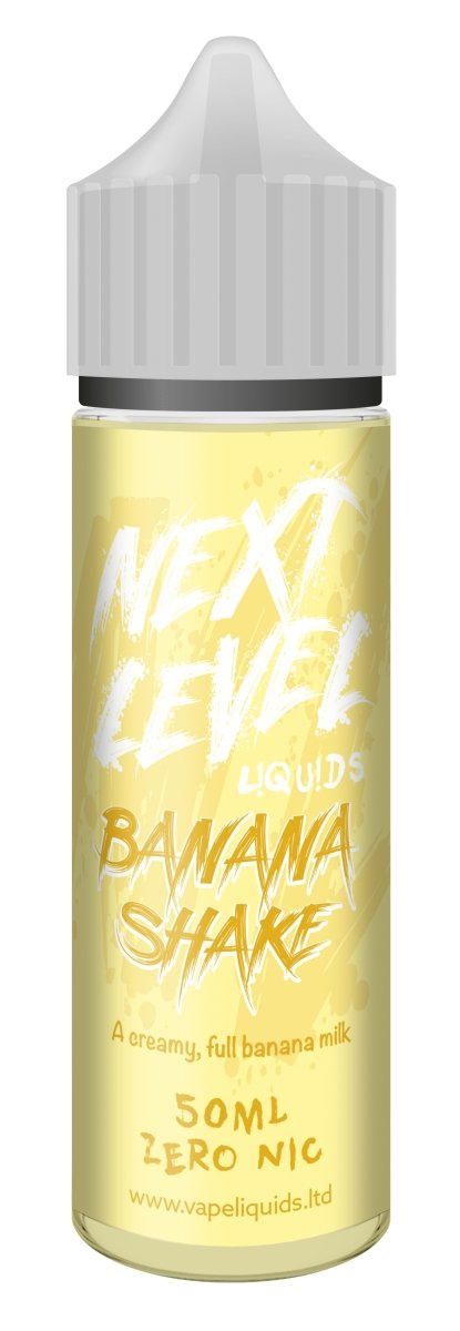 Next Level E-Liquids - Banana Shake 50ml - Vape Town