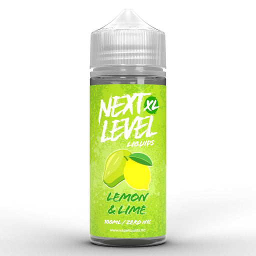 Next Level XL Lemon & Lime 100ml - Vape Town