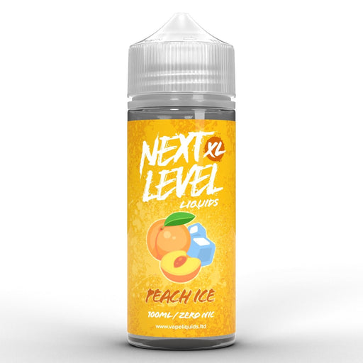 Next Level XL Peach On Ice 100ml - Vape Town