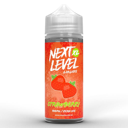 Next Level XL Strawberry 100ml - Vape Town