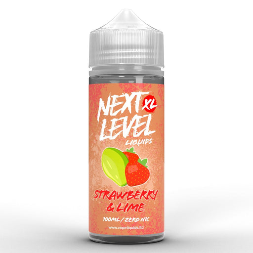 Next Level XL Strawberry and Lime 100ml - Vape Town