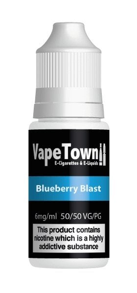 Vape Town Blueberry Blast 10ml - Vape Town