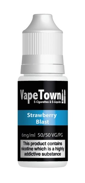 Vape Town Strawberry Blast 10ml - Vape Town