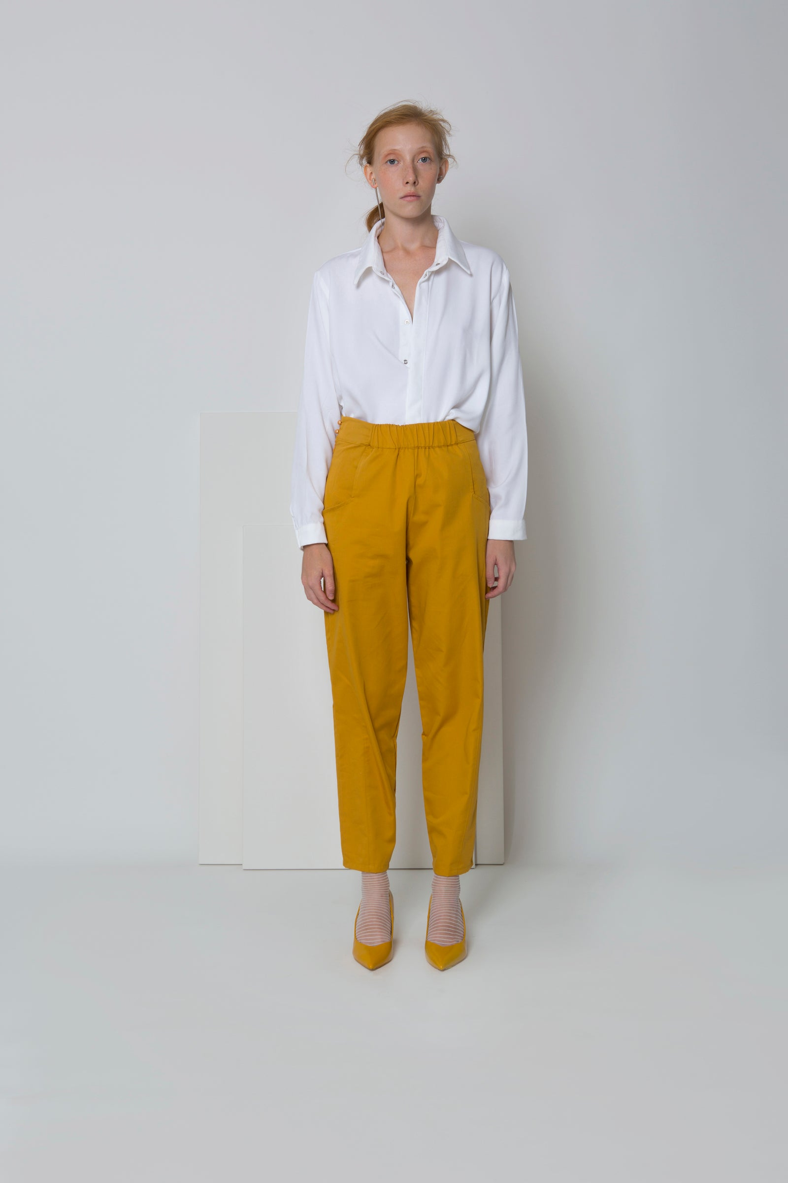 Pants Baba in Cotton Gabardine Colors